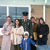 Denny on way to Germany<br /> 1970 Baldwin Field<br /> Grandma, Sue, Denny, Christine, Wayne Zenger, David McCulloch, Mary Kay
