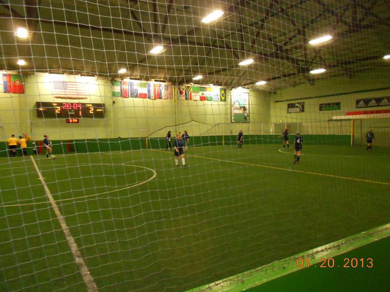 Beija photographs Grandma's soccer game