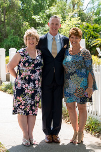 Simard siblings - Michelle, Roland and Audree