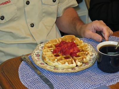 Belgian Waffle Party