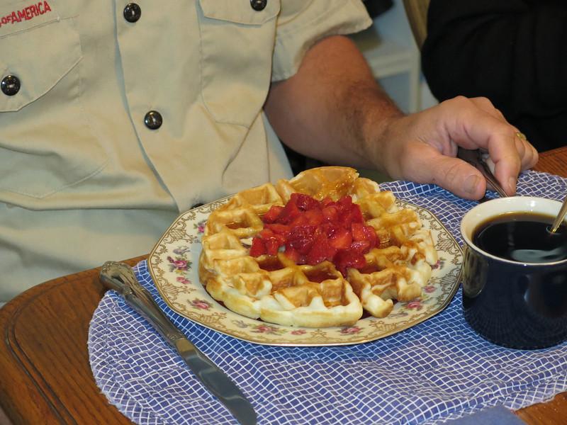 Belgian Waffle Party in Hernando