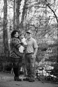 Bella, Mommy, & Daddy