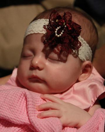 Bella's Baby Dedication 3-6-2011