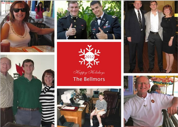 Bellmor's 2012 Christmas Card