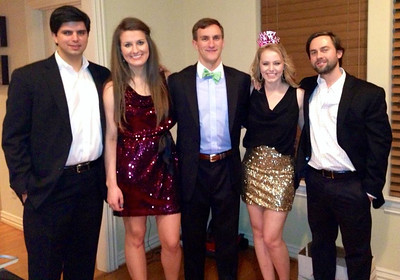 Morgan Bellmor & Graciely Reichen With Friends New Year's Eve Party 12-31-12