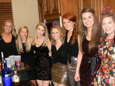 Morgan Bellmor's Friends New Year's Eve 2012