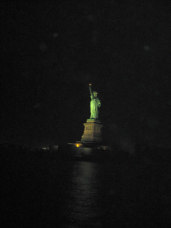 Statue of Liberty Dinner Cruise Ann Bellmor's New York Trip December 2012