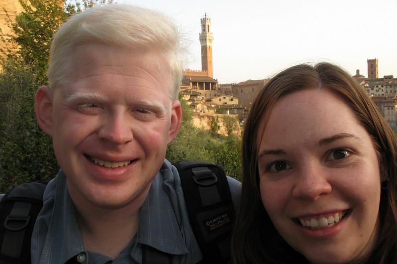Ben & Sarah in Siena