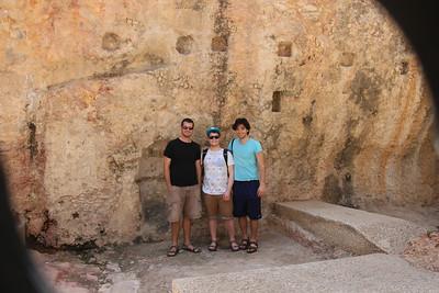 Ben, Oscar and Matt in Jerusalem May 2013