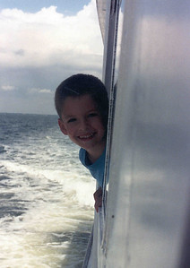 Ben on boat