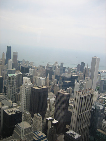 Downtown Chicago from Sears Tower 04
