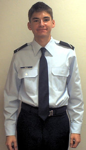 Ben in ROTC uniform 2004