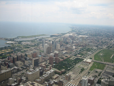 Downtown Chicago from Sears Tower 01