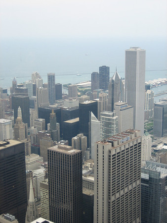 Downtown Chicago from Sears Tower 07