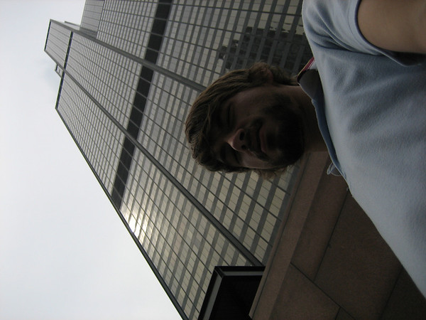 Ben in front of the Sears Tower
