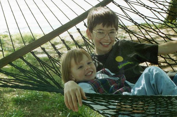 Ben Tahirih in hammock