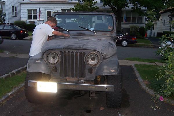 Ben's Jeep