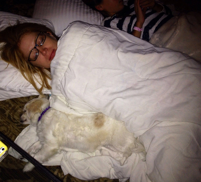 Christmas Day Nappin'