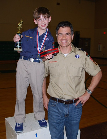 William Wallace, Den 1 Pine Car Derby champion.