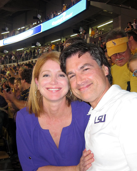 LSU-Ole Miss 2014. (Geaux to hell, Ole Miss!)