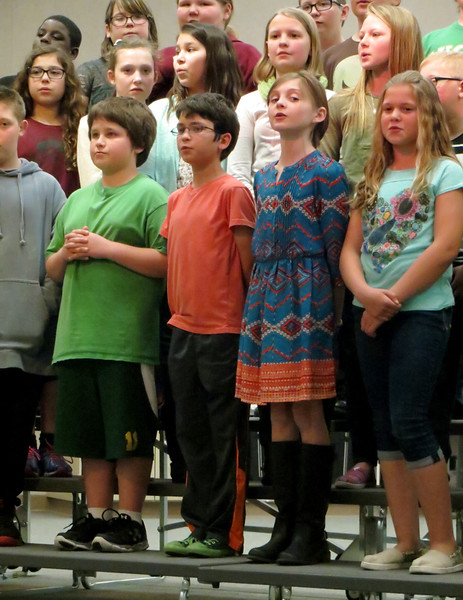 Earth Day choir concert