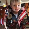 Liam, Master Lego builder
