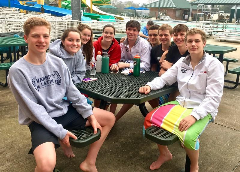 State Swim Meet.