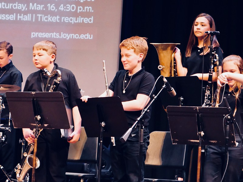 Loyola Jazz Fest.