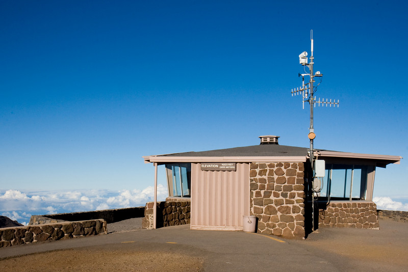 Haleakala Summit observatory, facing NorthEast