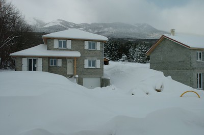 When it stopped there had fallen more than 40 cm of snow.