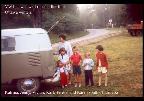 Myron Vivian Family 1965-1974