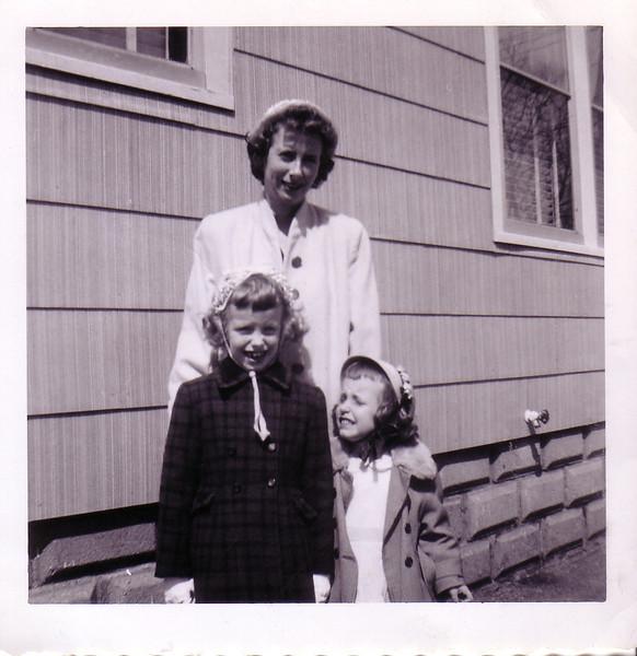 Lynn, Jean, and Beth Johnston at 64 Jenness St. Springfield, MA