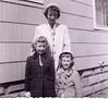 Lynn, Jean, & Beth Johnston on Jenness Street