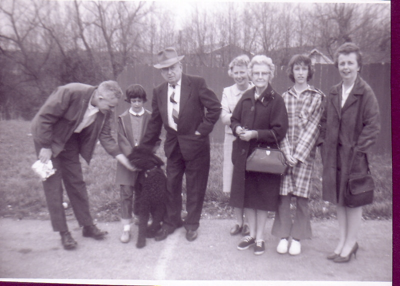 Paul Ingraham, Laurie, Grandpa Murdo Nicholson, Jean, Annie Nicholson, Beth, Eleanor Ingraham