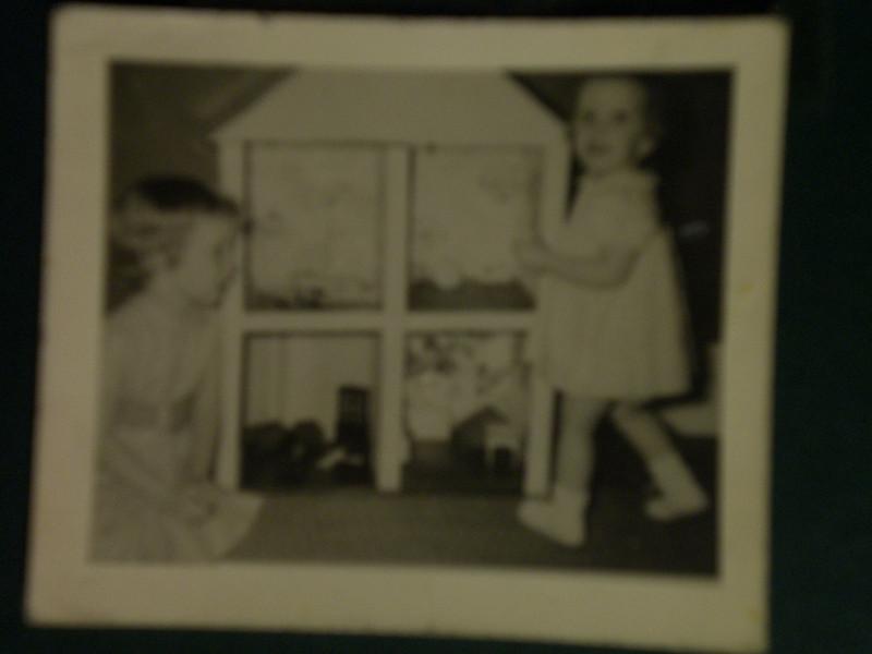Lynn and Beth w/ Dollhouse