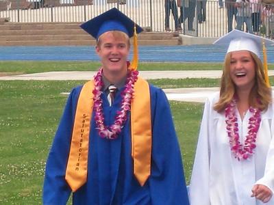 Grady Roth & Megan Booker Graduates 2008 - King City High School