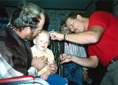 Ryan's 1st Haircut