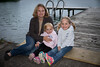 Bridget with kids
