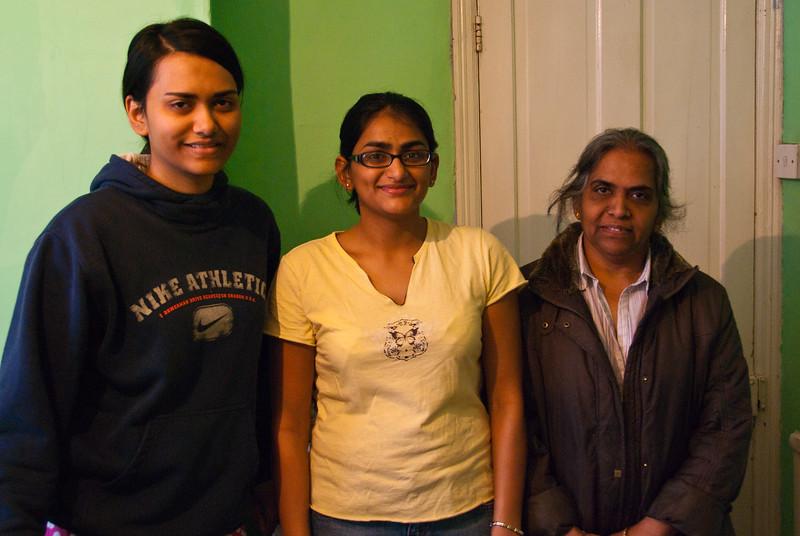 Krina, Bhumisha, and Rekha Foi