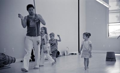 Primeira Aula de Capoeira