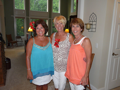 Me, the B-day gal...Ann and Georgann G has been my friend since 1960, Ann since 1965...priceless