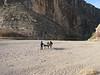 taking the baot across the desert