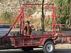 unloading trailer for canoe trip2