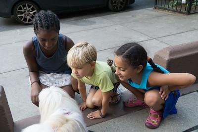 Kids love Biggie. And the feeling's very mutual.