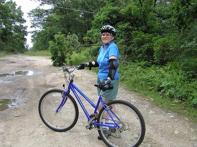Biking with Edie, Rob, Relatives & Friends