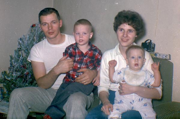 Bill & Robertta with kids-2