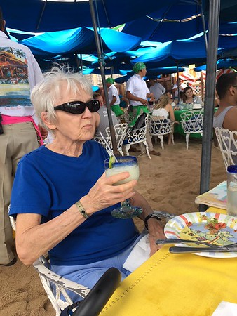 Bill and Mom - Cabo San Lucas, April 2018
