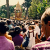 Cremation ceremony, Bali (1988).