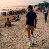 Kuta Beach, Bali (1988).