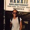 Candidasa, Bali (1988).